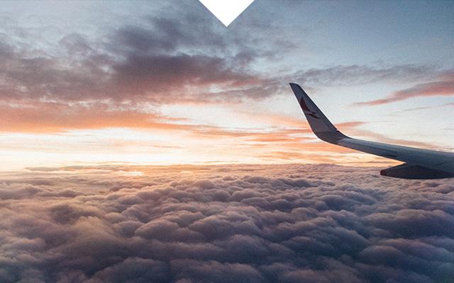 Reisen mit Flug