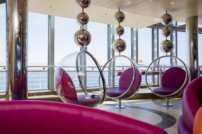 AIDAprima Lounge