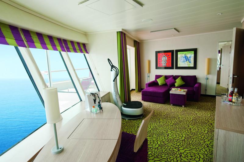 AIDAsol panorama deluxe suite