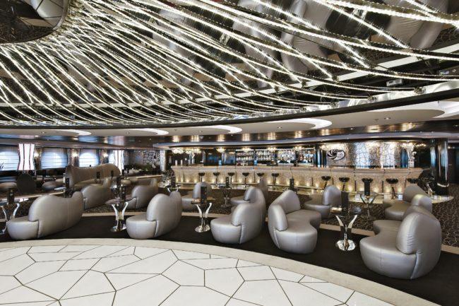 MSC Divina White Lounge